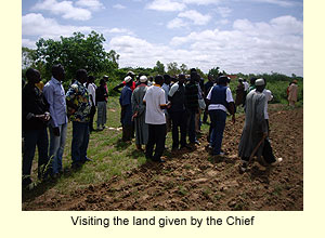 Land visit