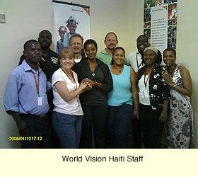 WV Haiti staff