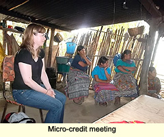 Micro-credit meeting